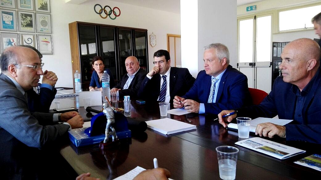 Un momento dell'incontro avvenuto a Messina (da FIBS)